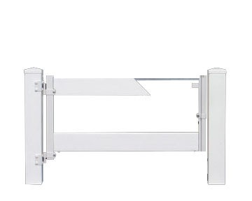 2 Rail Gate Insert Frame Model