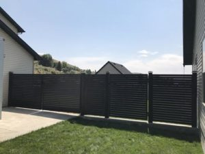 iron privacy fence